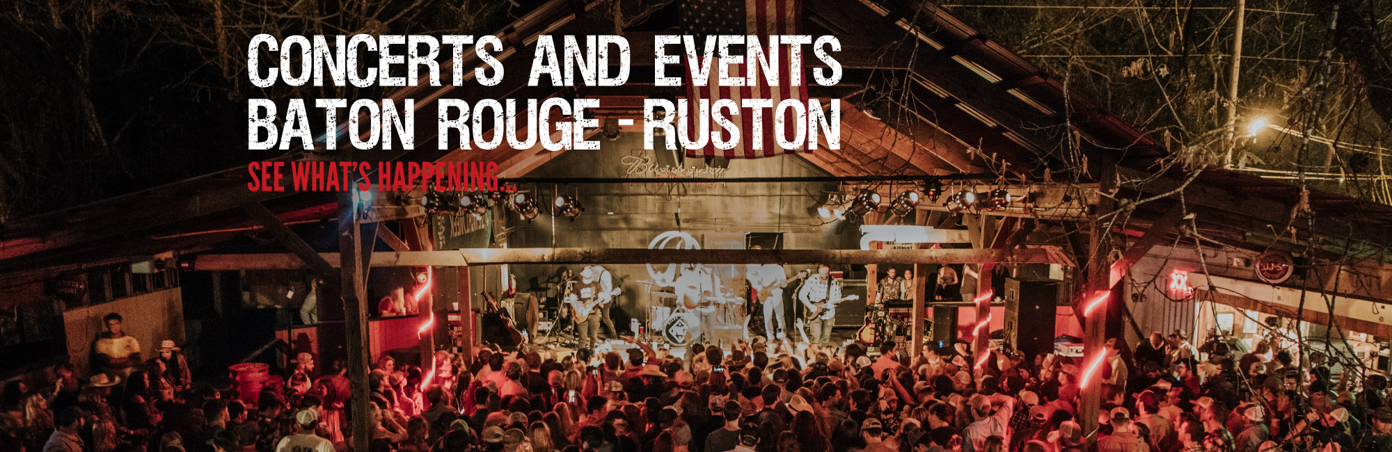 Baton Rouge & Ruston Concerts & Events Image